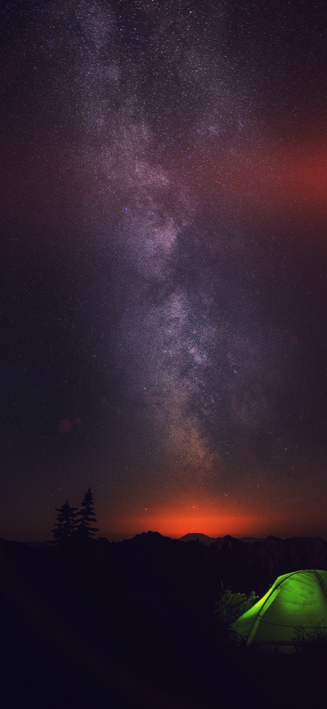 Iphonexpapers Com Iphone X Wallpaper My85 Camping Night Star Galaxy Milky Sky Dark Space