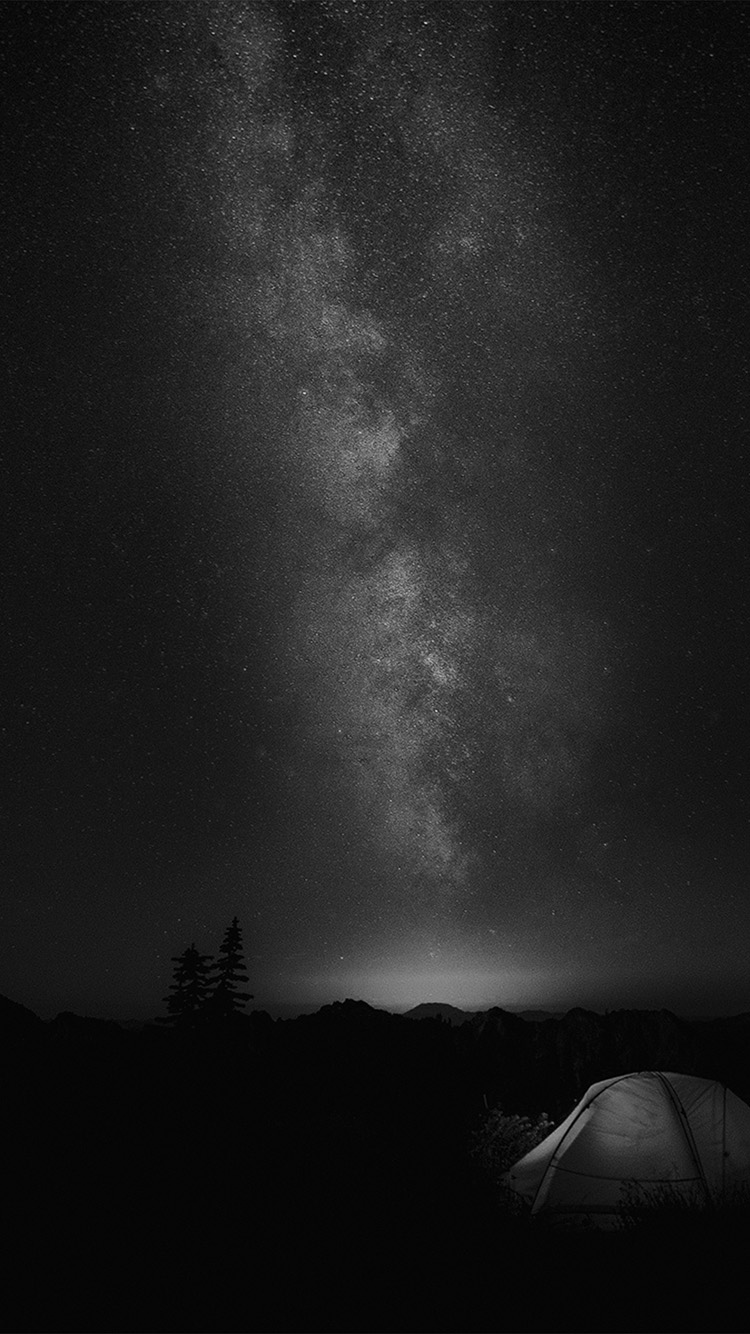 iPhone7papers.com-Apple-iPhone7-iphone7plus-wallpaper-my86-camping-night-star-galaxy-milky-sky-dark-space-bw-dark