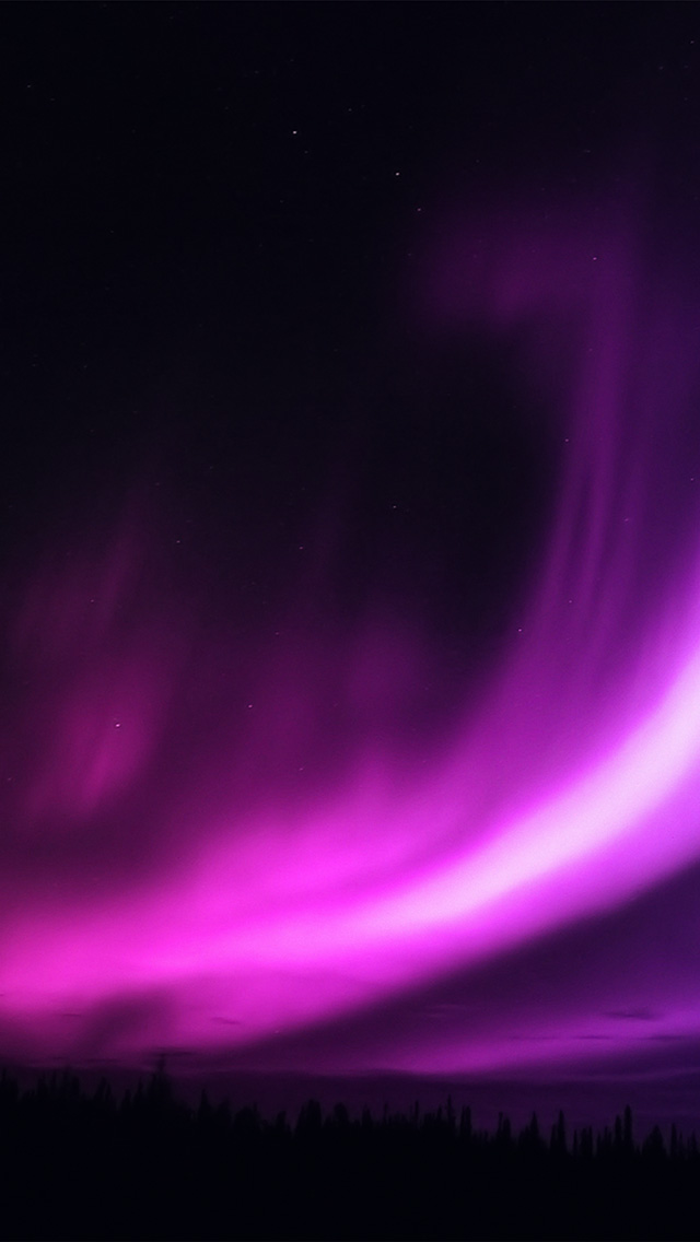 freeios8.com-iphone-4-5-6-plus-ipad-ios8-my94-aurora-purple-night-sky-beautiful