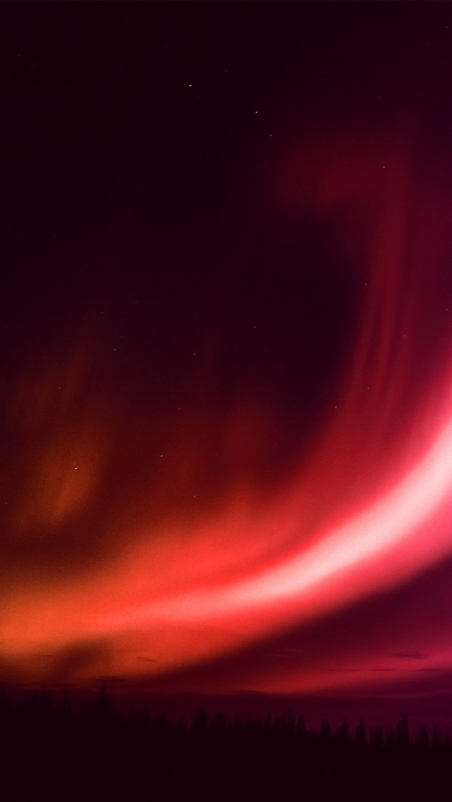 freeios8.com-iphone-4-5-6-plus-ipad-ios8-my96-aurora-red-night-sky-beautiful