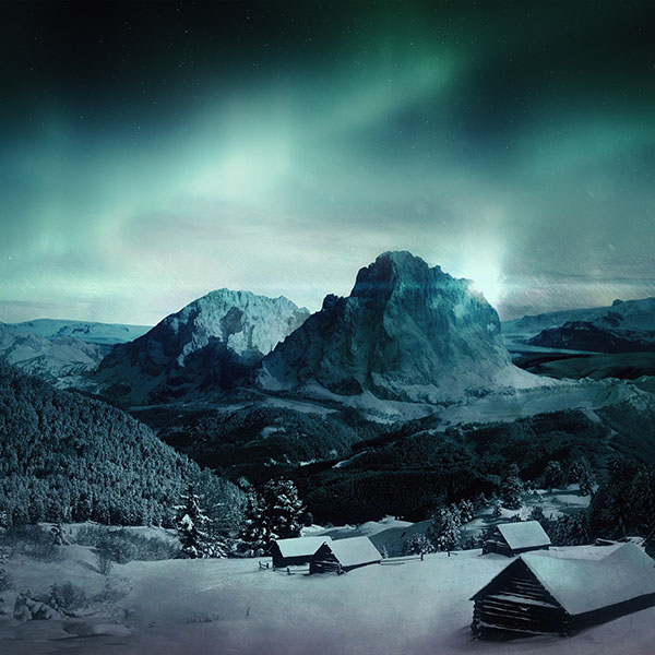 iPapers.co-Apple-iPhone-iPad-Macbook-iMac-wallpaper-my98-night-sky-mountain-snow-winter-aurora-wallpaper