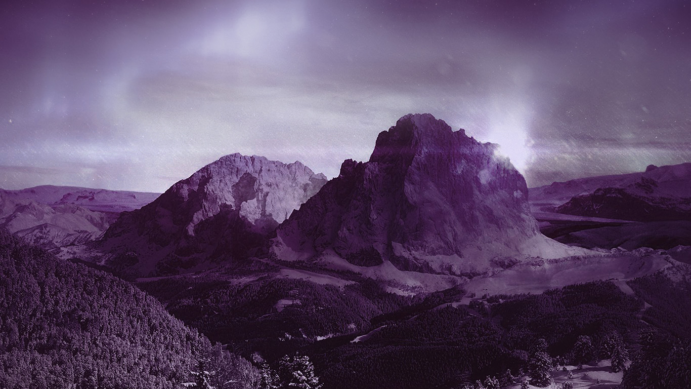 desktop-wallpaper-laptop-mac-macbook-air-mz00-night-sky-mountain-snow-winter-aurora-purple-wallpaper