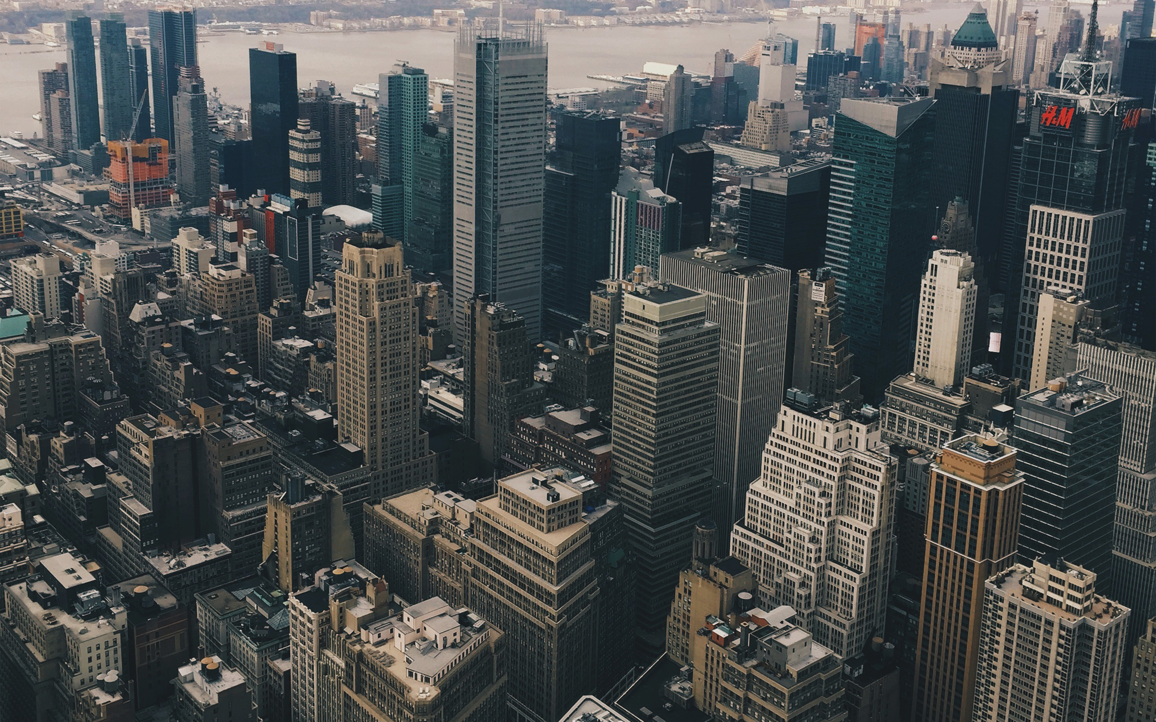 Mz13 Cityview Sky Newyork Hm River Wallpaper