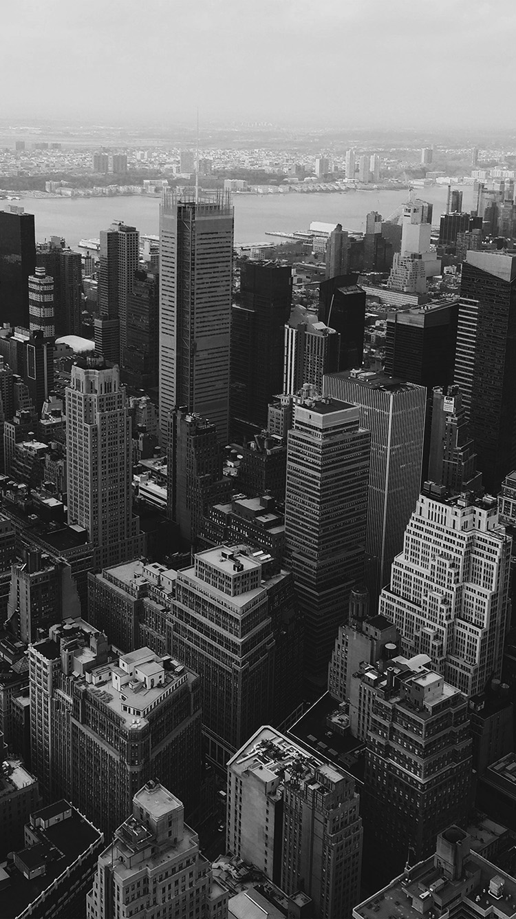 Papers.co-iPhone5-iphone6-plus-wallpaper-mz14-cityview-sky-newyork-hm-river-bw-dark