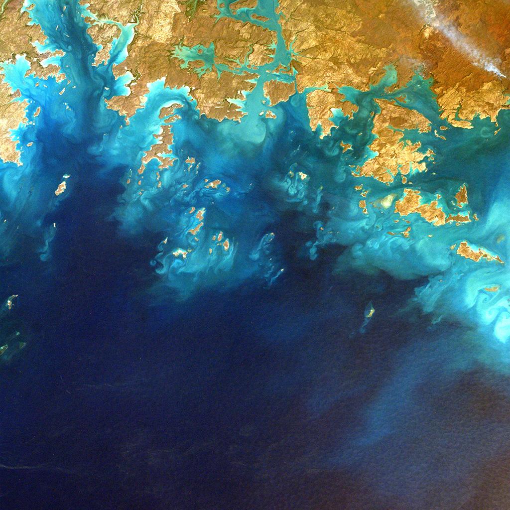 Google Earth Wallpaper: Mz56-sea-from-sky-earthview-art-nature-wallpaper