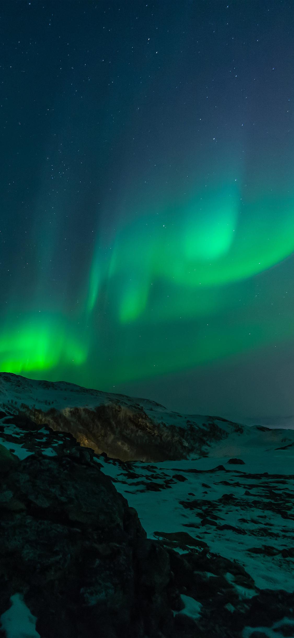 Iphonexpapers Com Iphone X Wallpaper Mz83 Aurora Nature Night Sky
