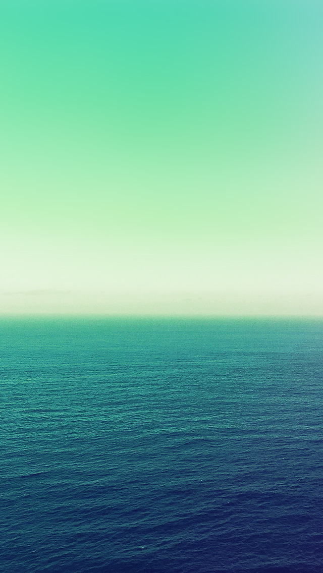 freeios8.com-iphone-4-5-6-plus-ipad-ios8-na11-calm-sea-green-ocean-water-summer-day-nature