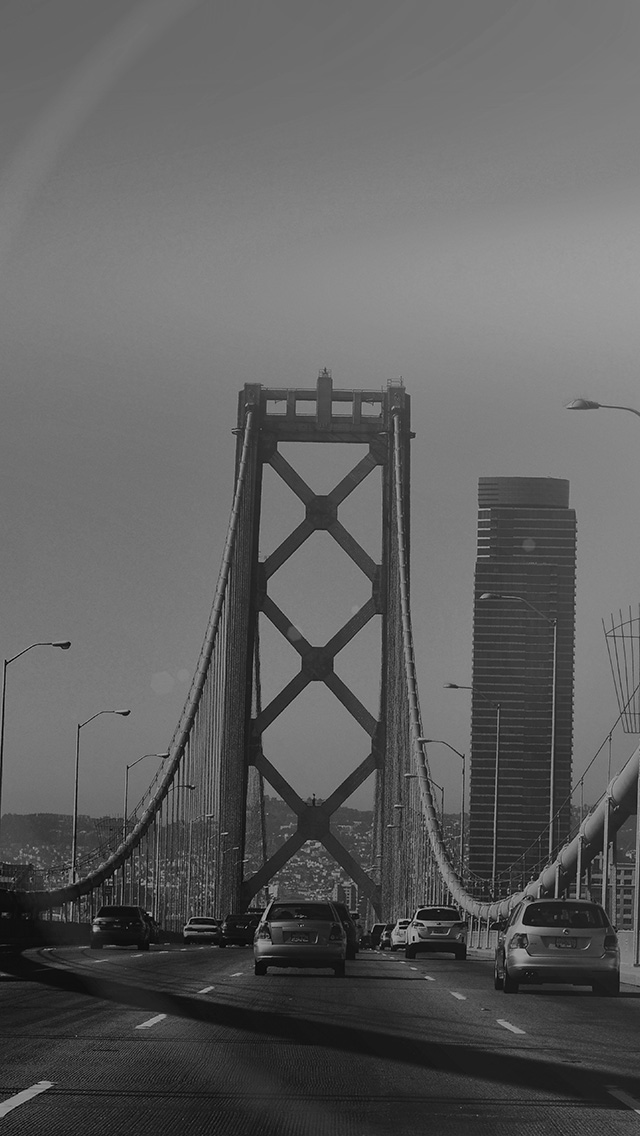 freeios8.com-iphone-4-5-6-plus-ipad-ios8-na15-city-bridge-river-building-day-flare-dark-bw