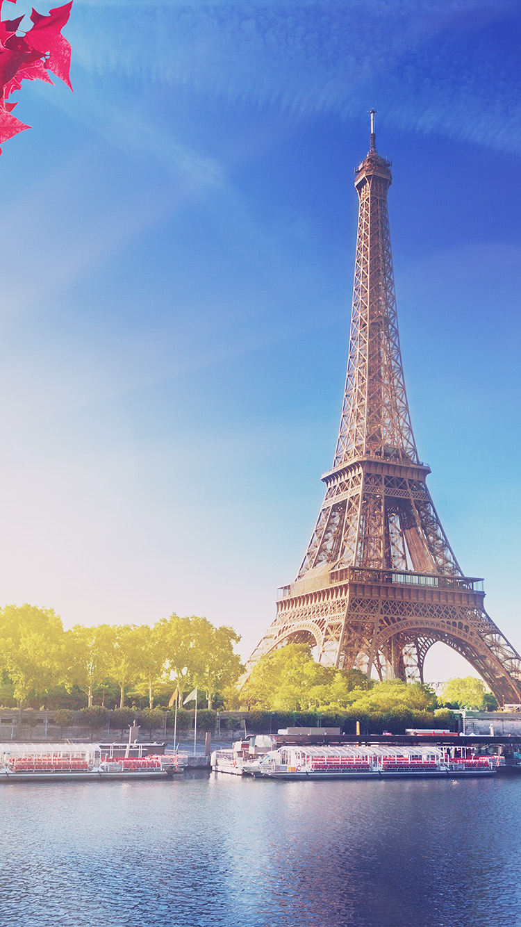Papers.co-iPhone5-iphone6-plus-wallpaper-na17-sky-blue-eiffel-tower-nature-paris-city-flare