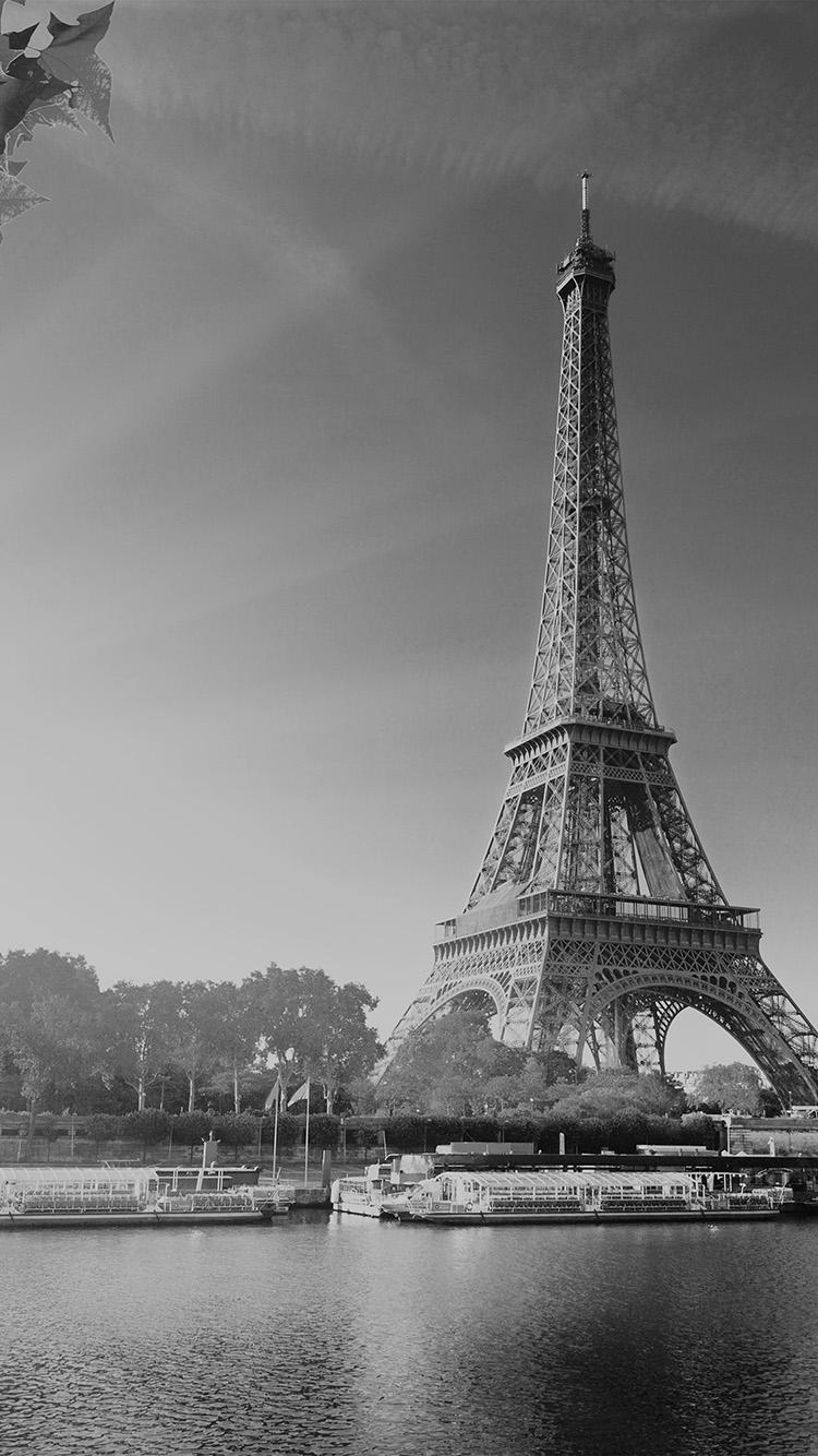 Iphone6papers Com Iphone 6 Wallpaper Na18 Sky Dark Bw Eiffel