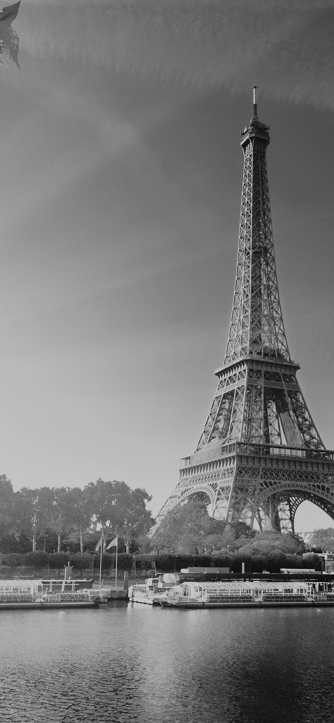 iPhonexpapers.com-Apple-iPhone-wallpaper-na18-sky-dark-bw-eiffel-tower-nature-paris-city