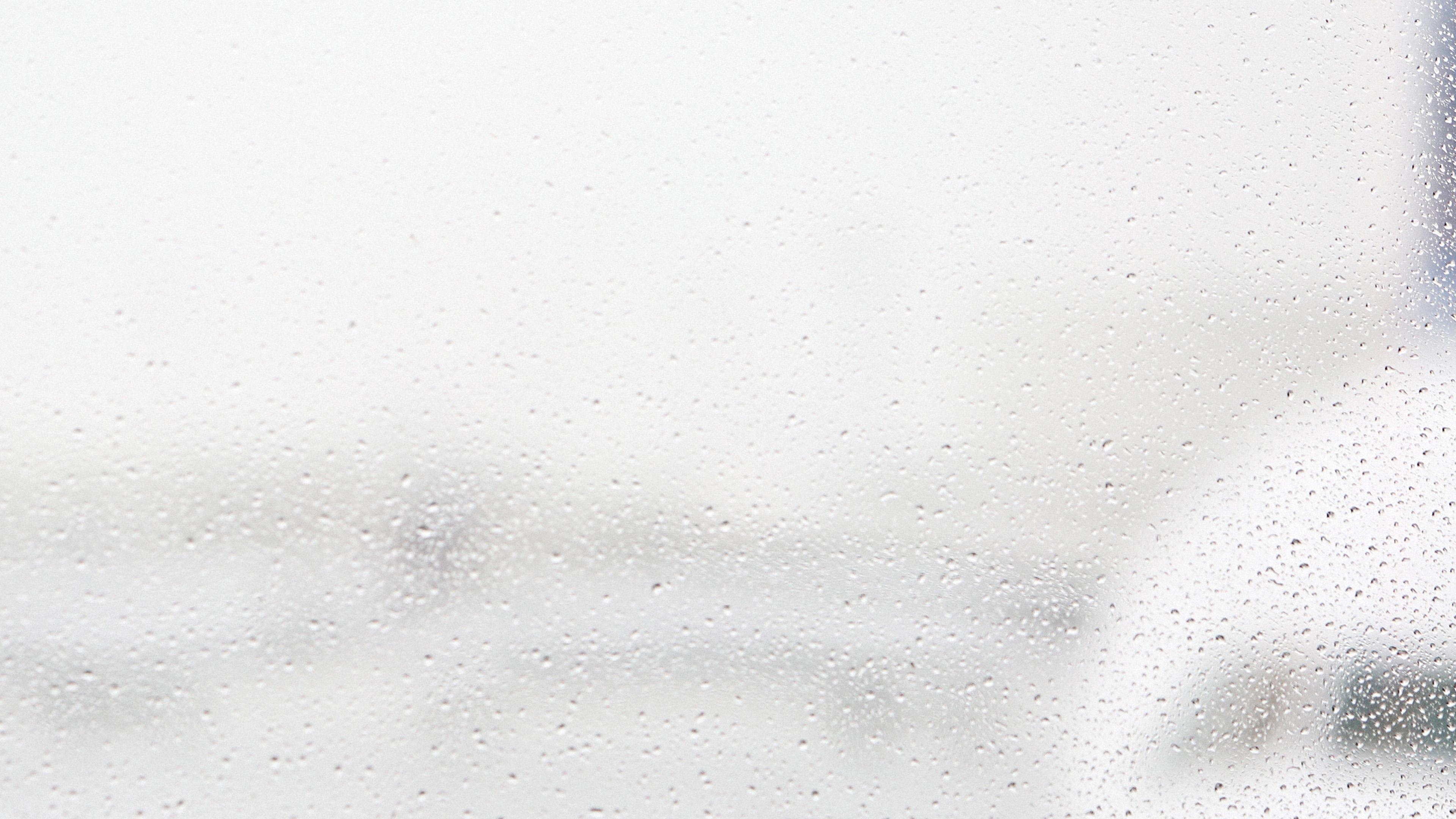 Papers Co Desktop Wallpaper Na37 Window Rain Bubble