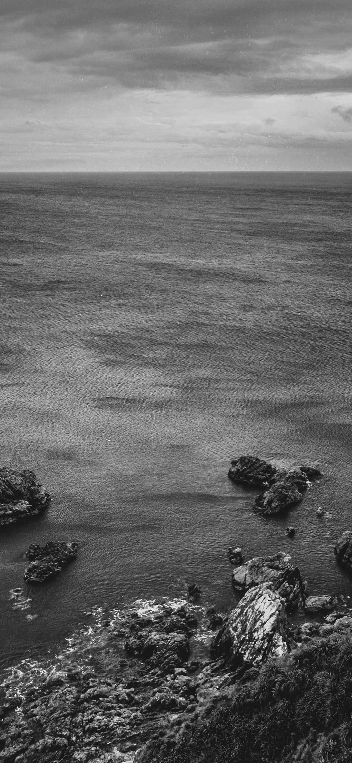 iPhonexpapers.com-Apple-iPhone-wallpaper-na52-cliff-sea-ocean-rock-nature-bw-dark