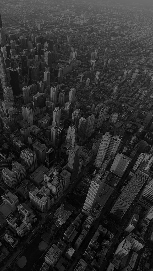freeios8.com-iphone-4-5-6-plus-ipad-ios8-na57-chicago-city-skyview-building-architecture-blocks-dark-bw