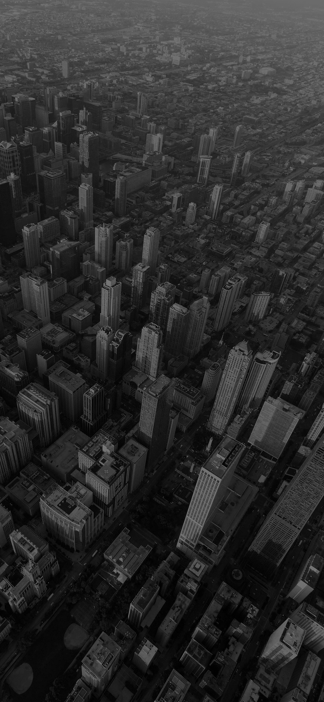 iPhoneXpapers.com-Apple-iPhone-wallpaper-na57-chicago-city-skyview-building-architecture-blocks-dark-bw