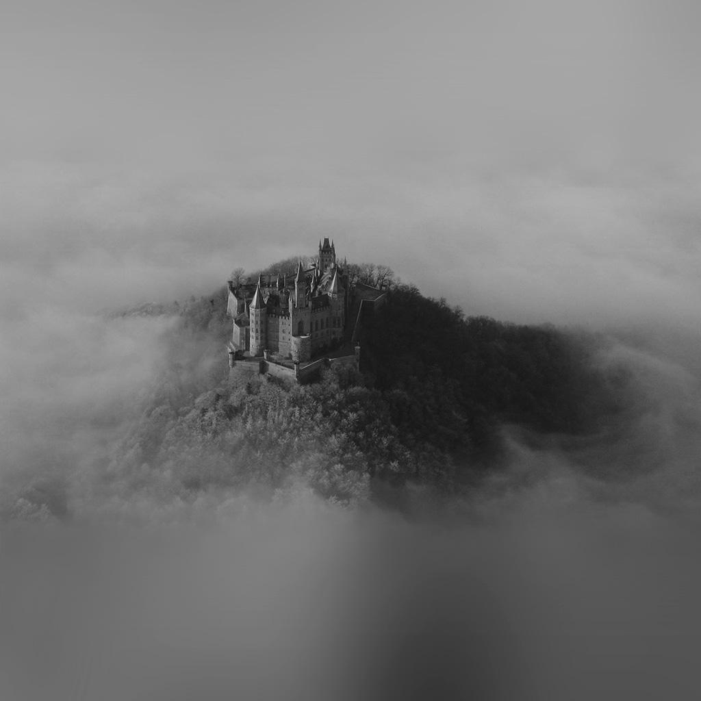 Fantasy Art City In The Sky