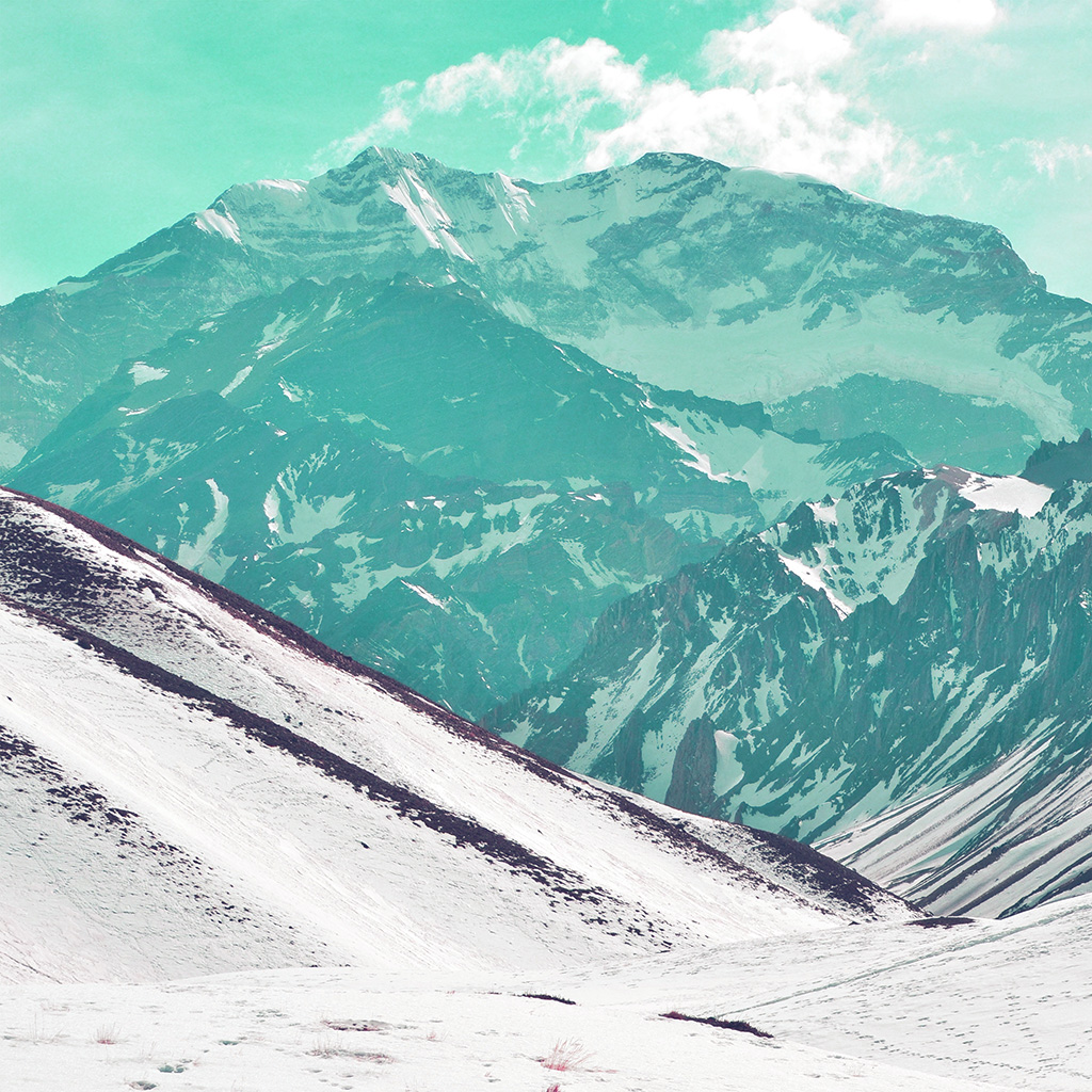 android-wallpaper-na72-snow-mountain-art-nature-winter-green-wallpaper