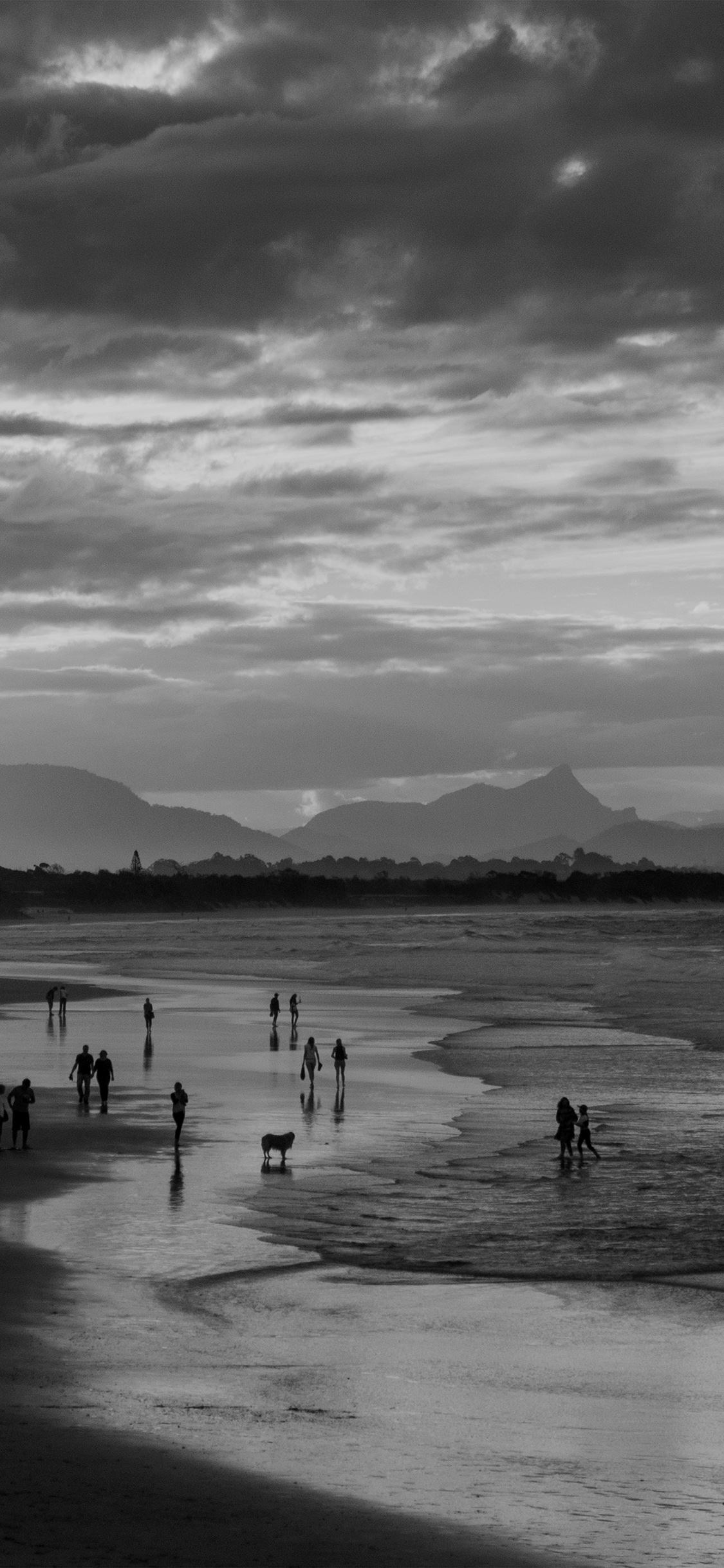 iPhonexpapers.com-Apple-iPhone-wallpaper-na87-sea-sunset-beach-dawn-summer-dark-bw