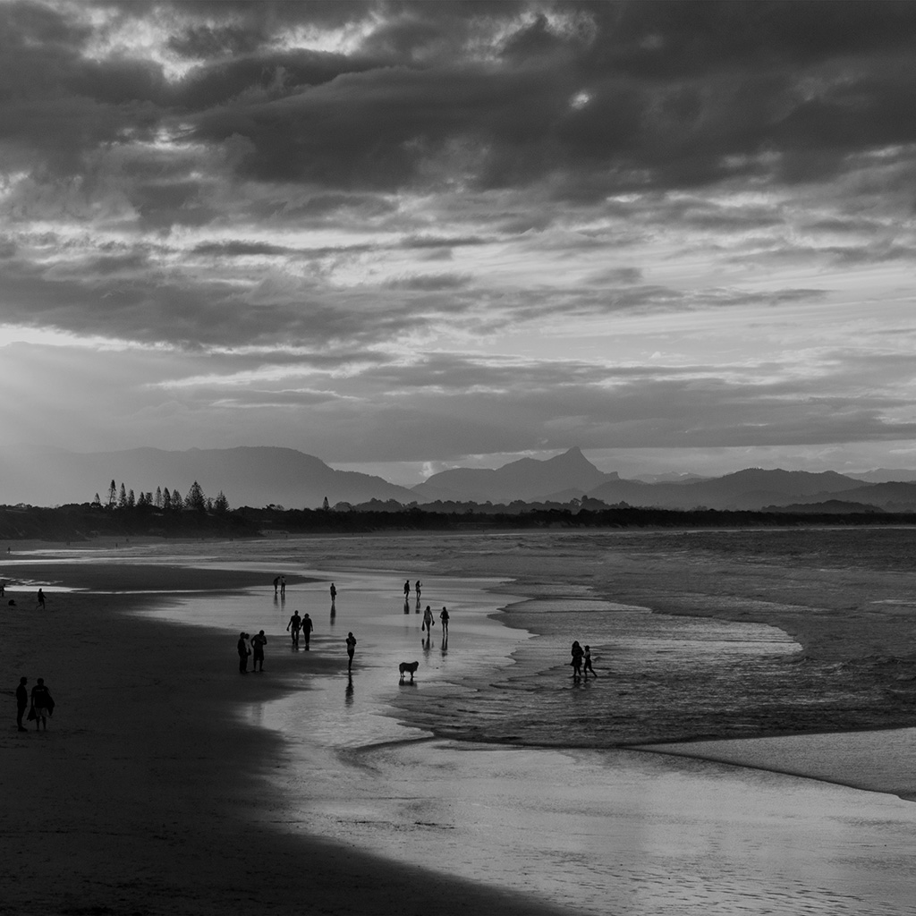 wallpaper-na87-sea-sunset-beach-dawn-summer-dark-bw-wallpaper
