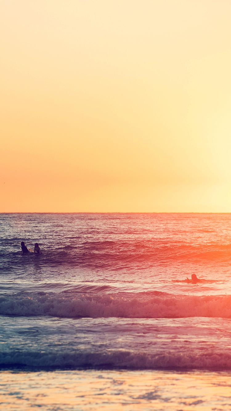 iPhonepapers.com-Apple-iPhone-wallpaper-na93-sea-california-beach-sunset-nature-art-ocean-blue-red