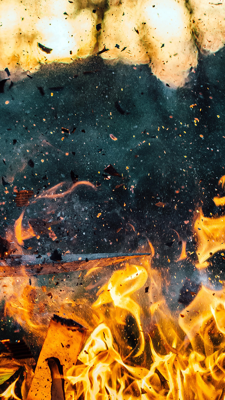 iPhone6papers.co-Apple-iPhone-6-iphone6-plus-wallpaper-na94-wood-explosion-fire-art