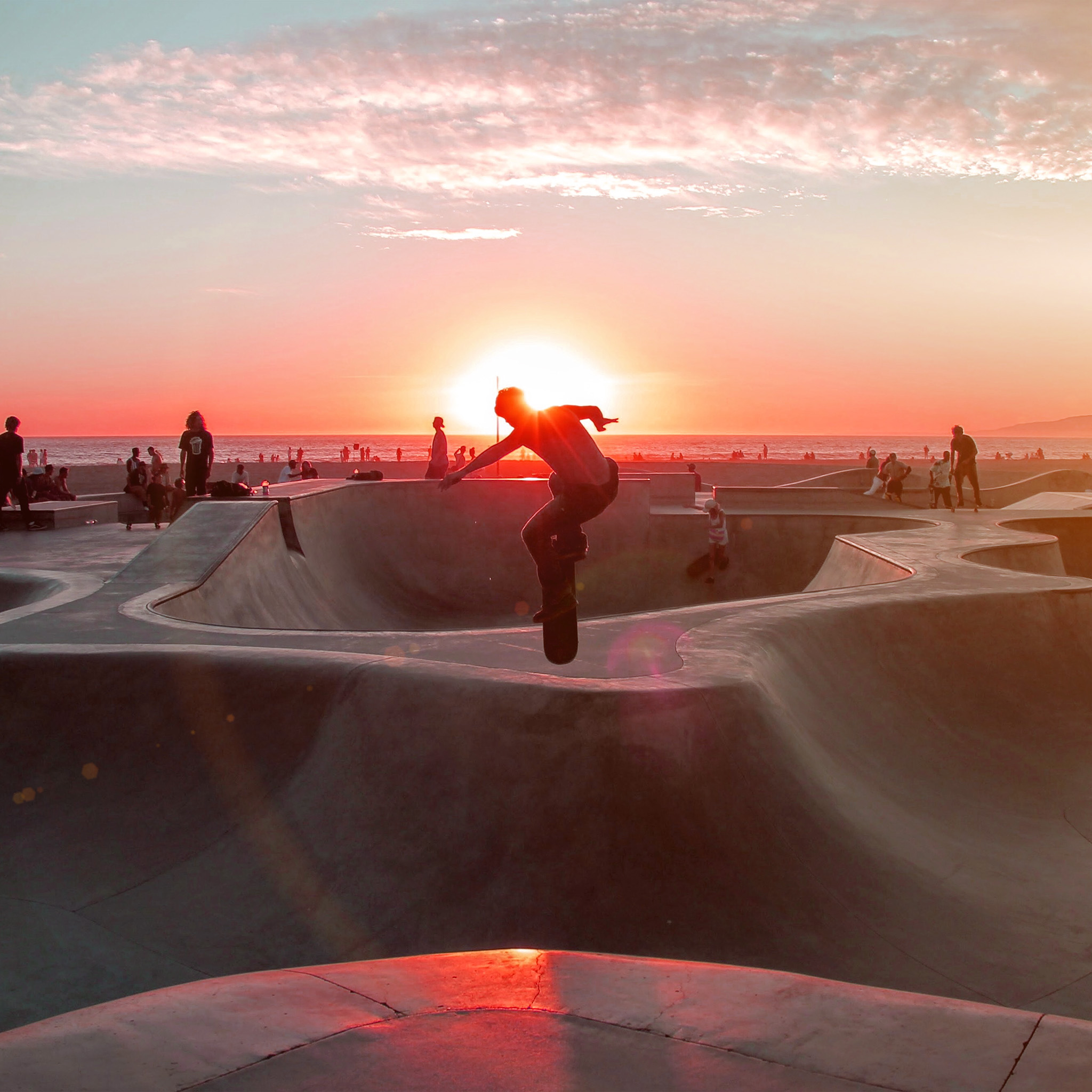 Nb19-skateboard-extreme-sports-summer-flare-red-wallpaper