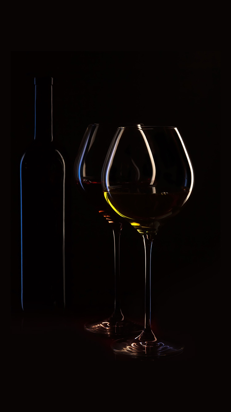 Papers.co-iPhone5-iphone6-plus-wallpaper-nb32-wine-bottle-dark-black-party