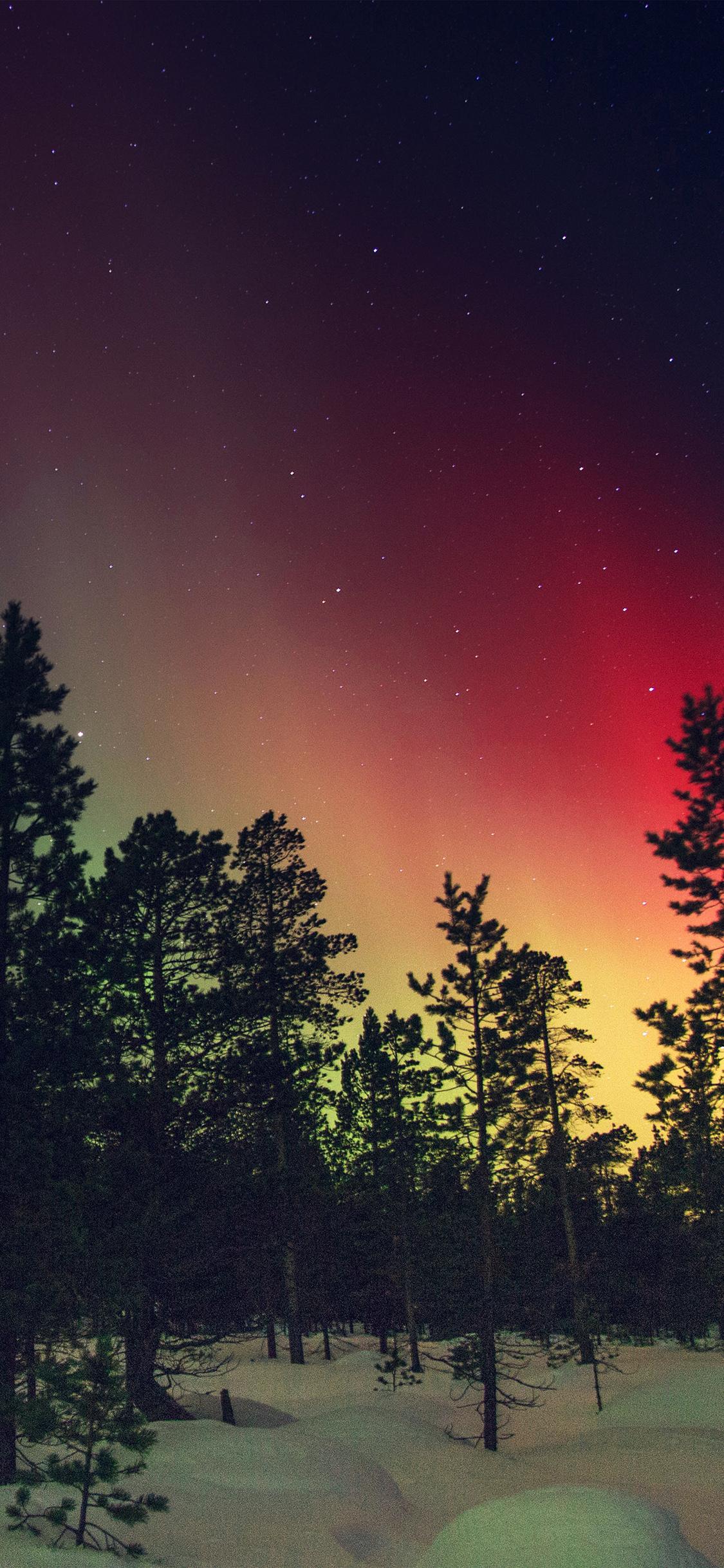iPhoneXpapers.com-Apple-iPhone-wallpaper-nb38-aurora-night-red-sky-space-dark-romantic