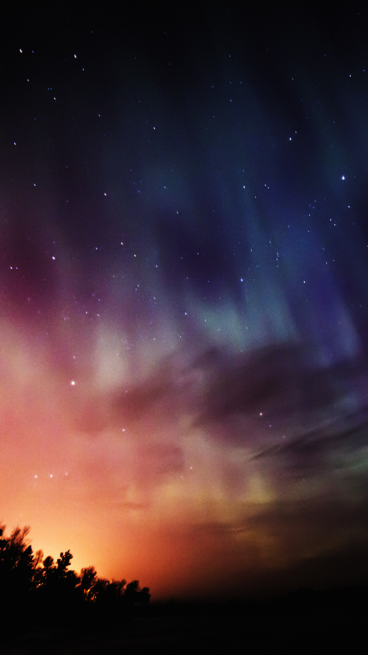 Papers.co-iPhone5-iphone6-plus-wallpaper-nb51-sky-aurora-night-stars-wonderful-rainbow