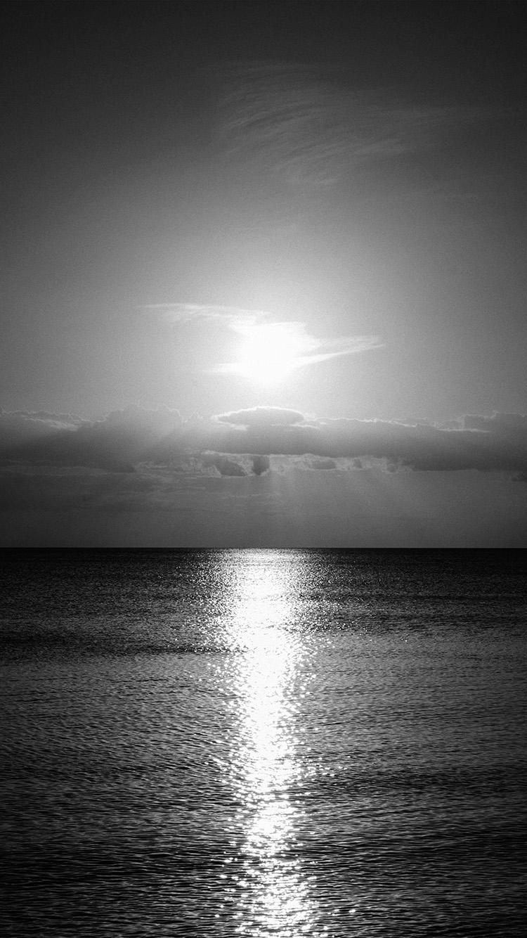 iPhone7papers.com-Apple-iPhone7-iphone7plus-wallpaper-nc34-sea-sunset-sky-ocean-water-nature-bw-dark
