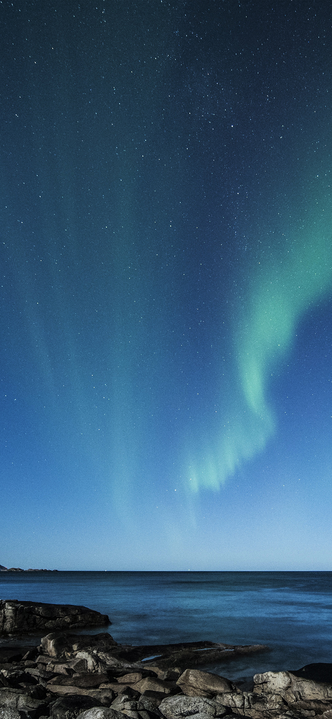 iPhoneXpapers.com-Apple-iPhone-wallpaper-nc54-aurora-night-sky-star-beautiful-space-sea