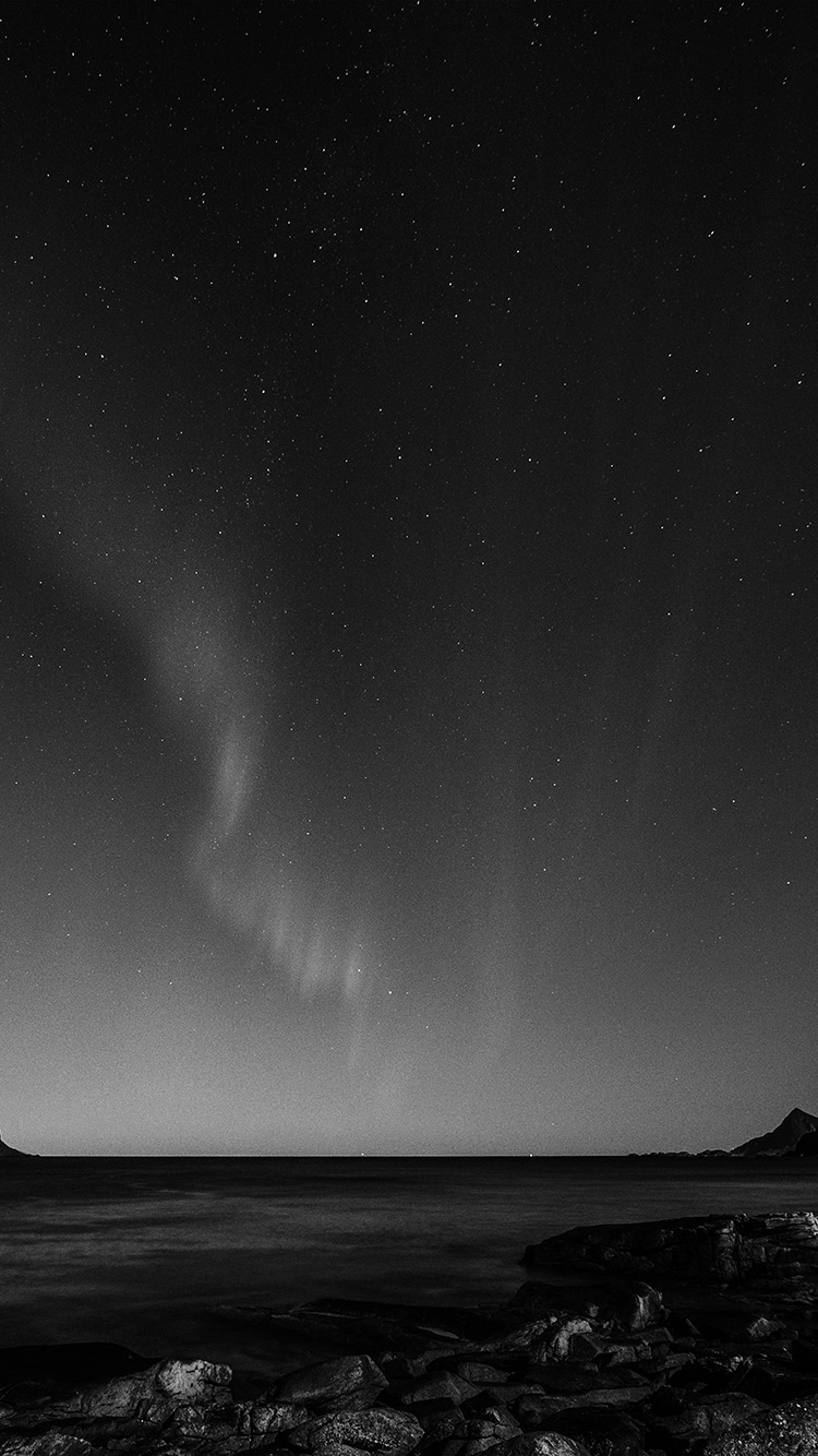 iPhone6papers.co-Apple-iPhone-6-iphone6-plus-wallpaper-nc56-aurora-night-sky-star-beautiful-space-sea-dark-bw