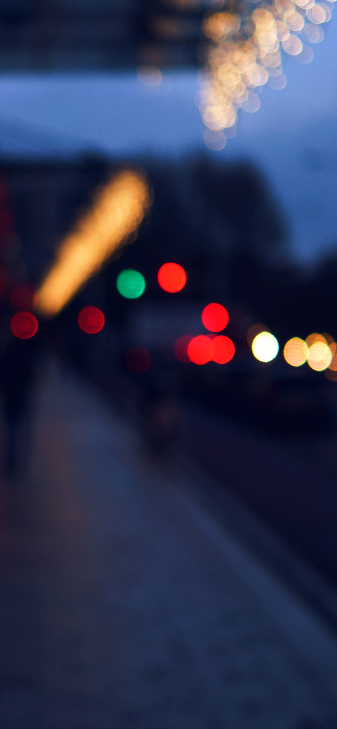iPhoneXpapers.com-Apple-iPhone-wallpaper-nc66-bokeh-street-lights-city-art-blue