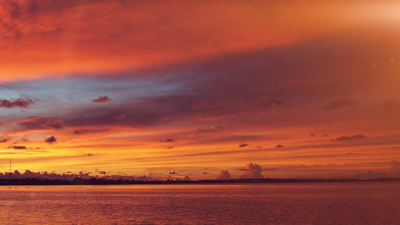 desktop-wallpaper-laptop-mac-macbook-air-nc93-sea-port-night-sunset-summer-red-flare-wallpaper