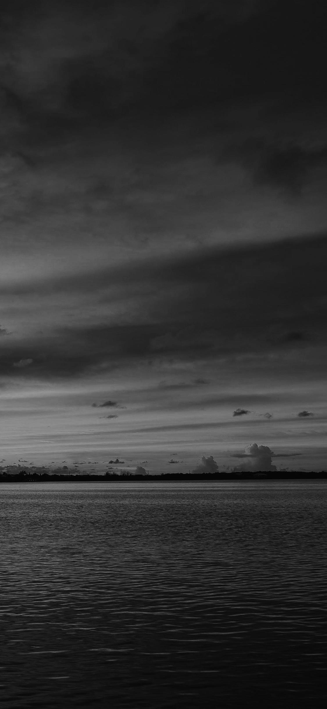 iPhoneXpapers.com-Apple-iPhone-wallpaper-nc94-sea-port-night-sunset-summer-dark-bw