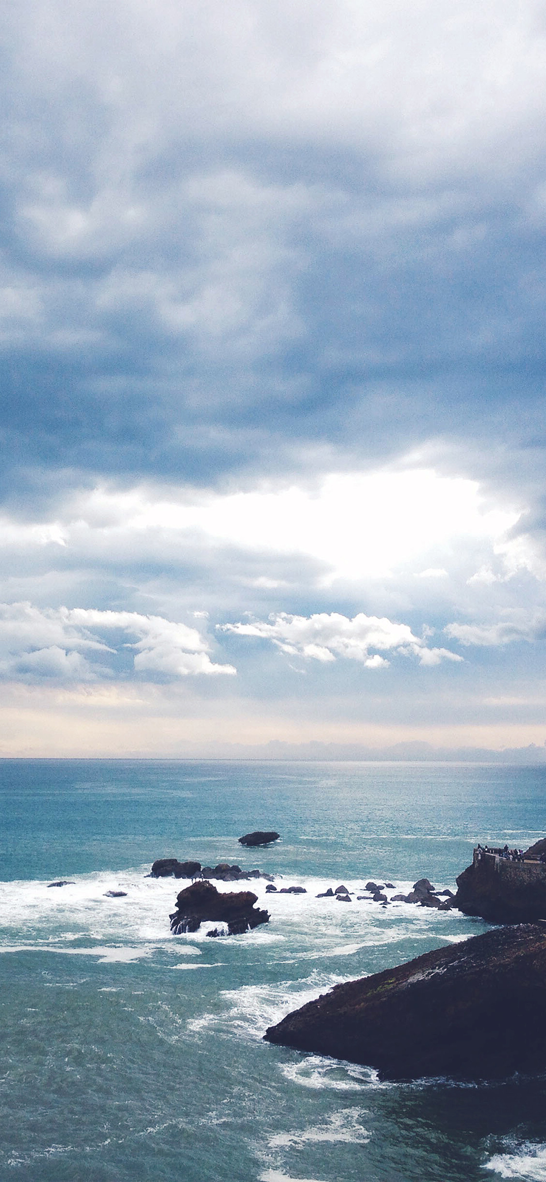 iPhoneXpapers.com-Apple-iPhone-wallpaper-nd03-sea-summer-rocks-mountain-blue