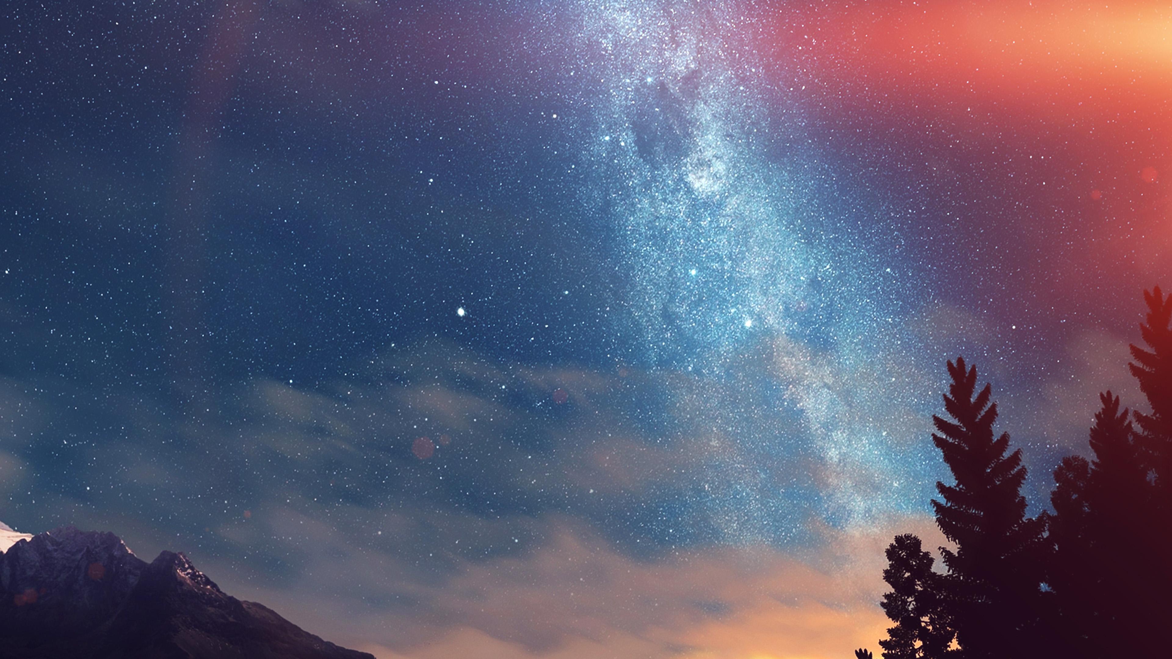 nd08-wonderful-tonight-space-star-sunset-mountain-flare-wallpaper