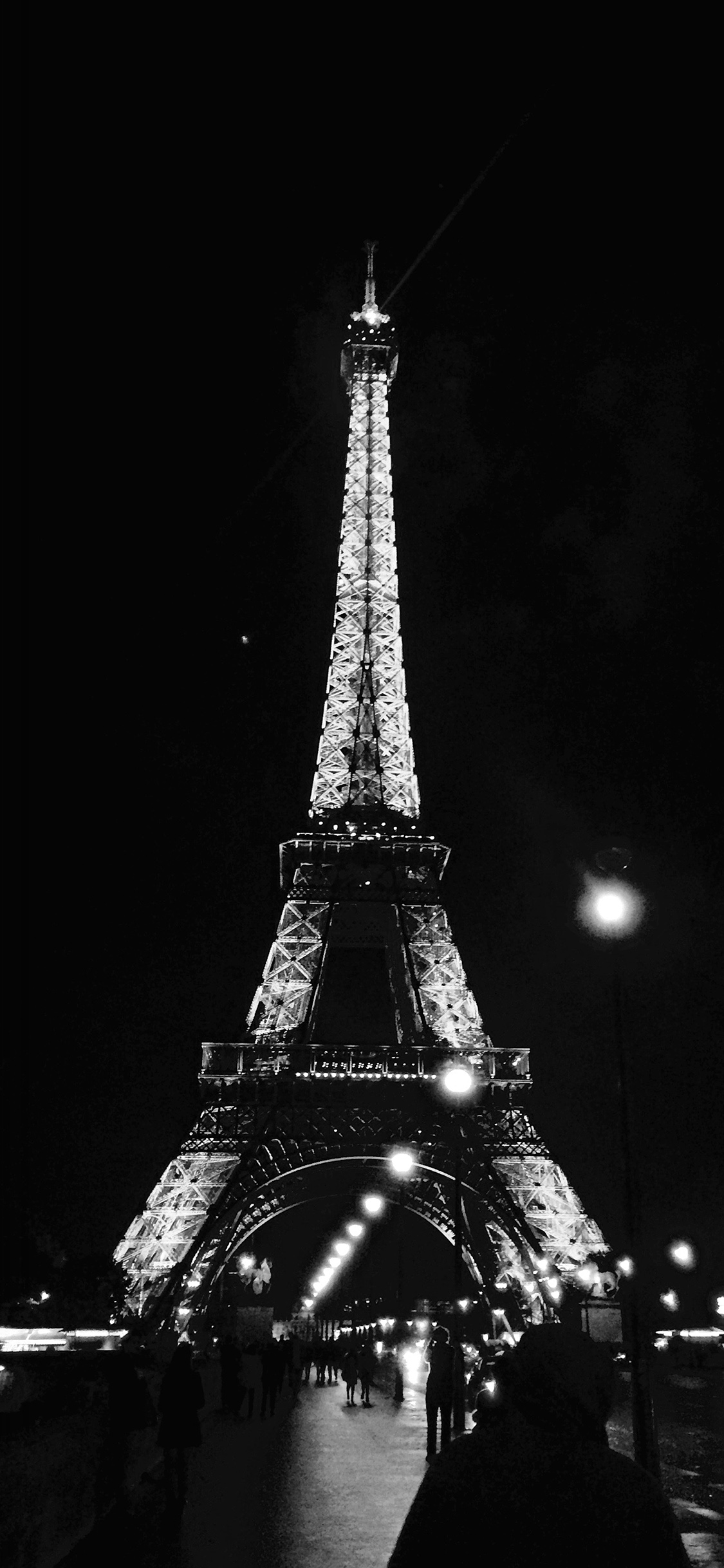 iPhoneXpapers.com-Apple-iPhone-wallpaper-nd29-paris-city-art-night-france-eiffel-tower-dark-bw