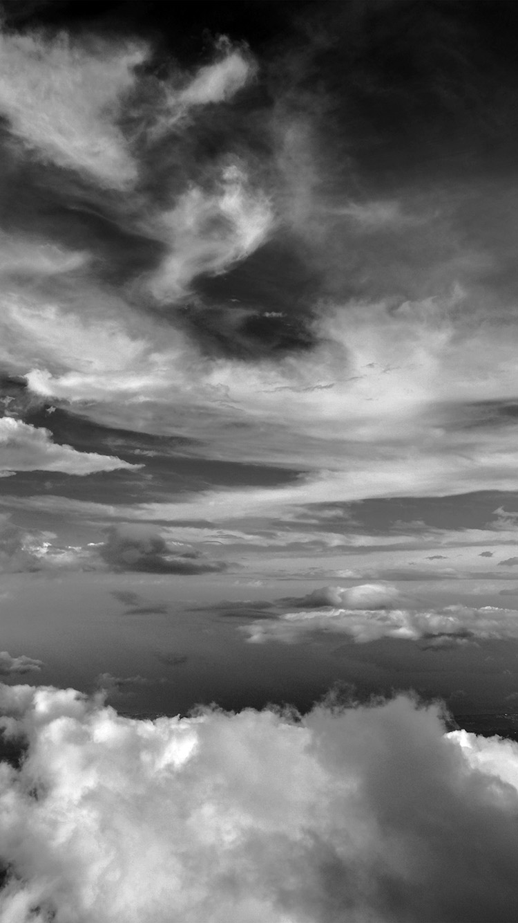 Papers.co-iPhone5-iphone6-plus-wallpaper-nd34-cloud-sky-nature-dark-bw