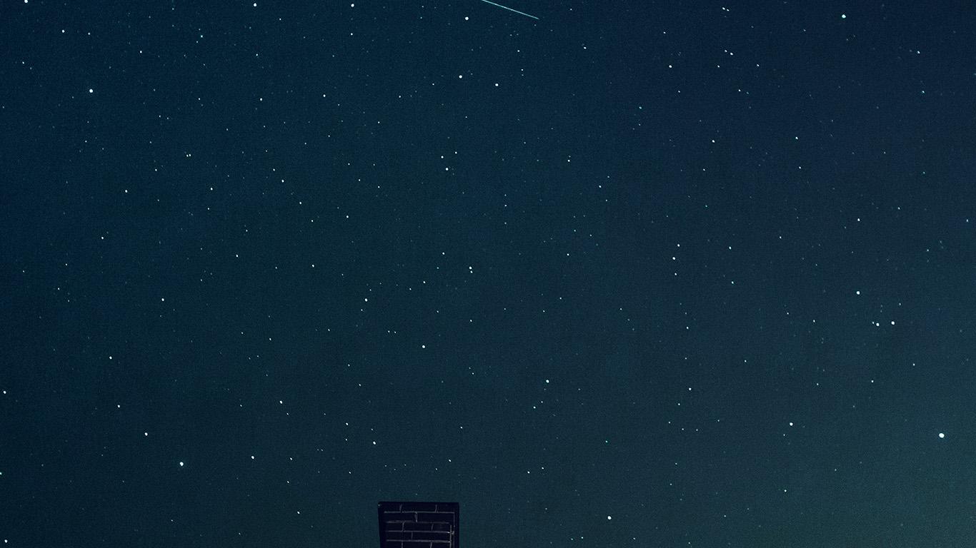Wallpaper For Desktop Laptop Nd44 Star Night Sky Summer Dark Blue