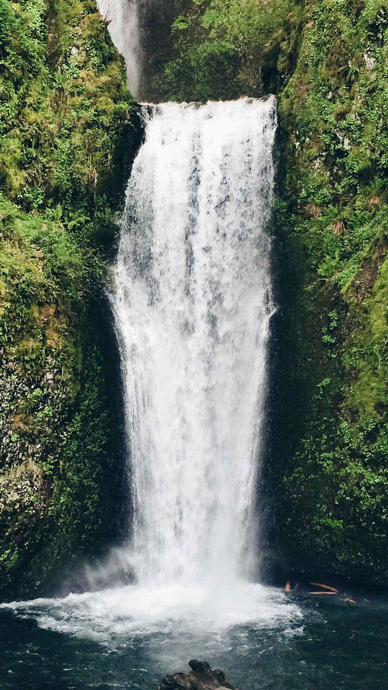 Iphonepapers Com Iphone 8 Wallpaper Nd49 Waterfall Nature