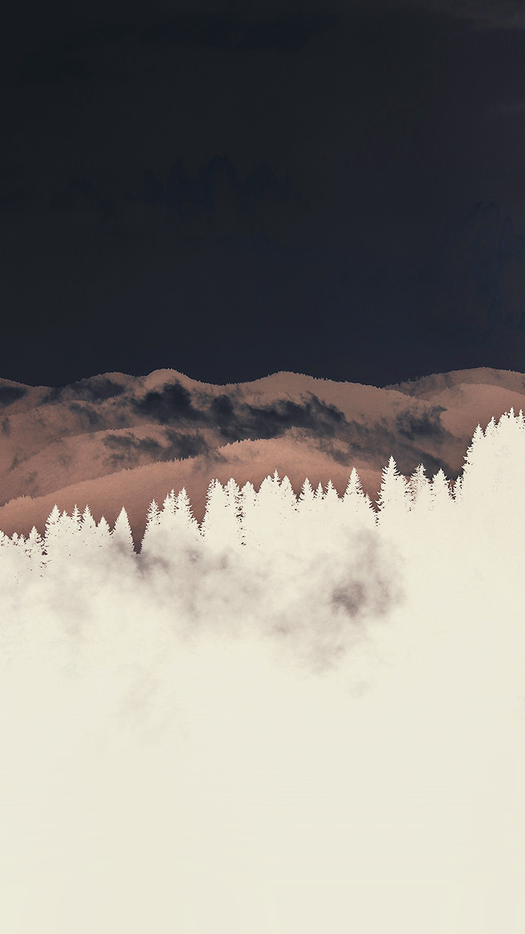 iPhone7papers.com-Apple-iPhone7-iphone7plus-wallpaper-nd59-mountain-fog-nature-view-wood-forest-white