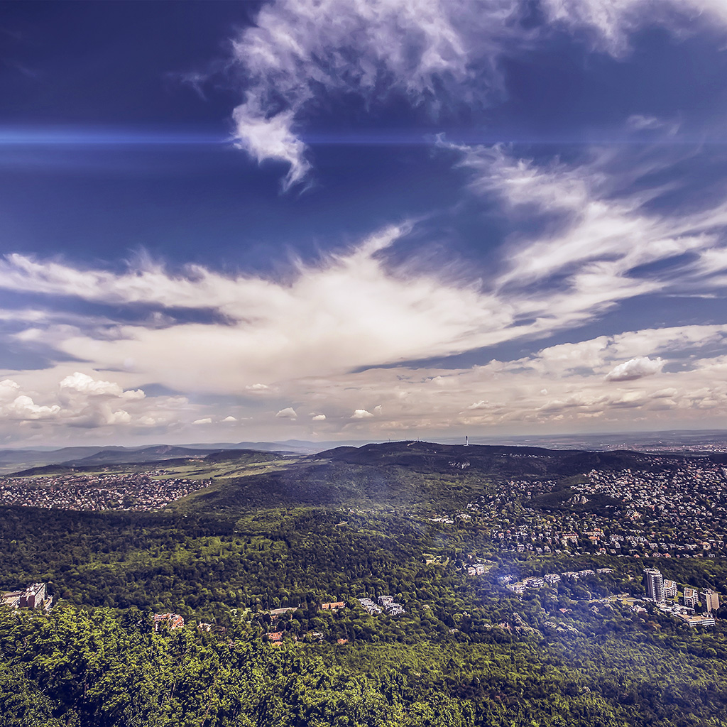 wallpaper-nd88-mountain-green-wood-city-sky-cloud-blue-summer-flare-wallpaper