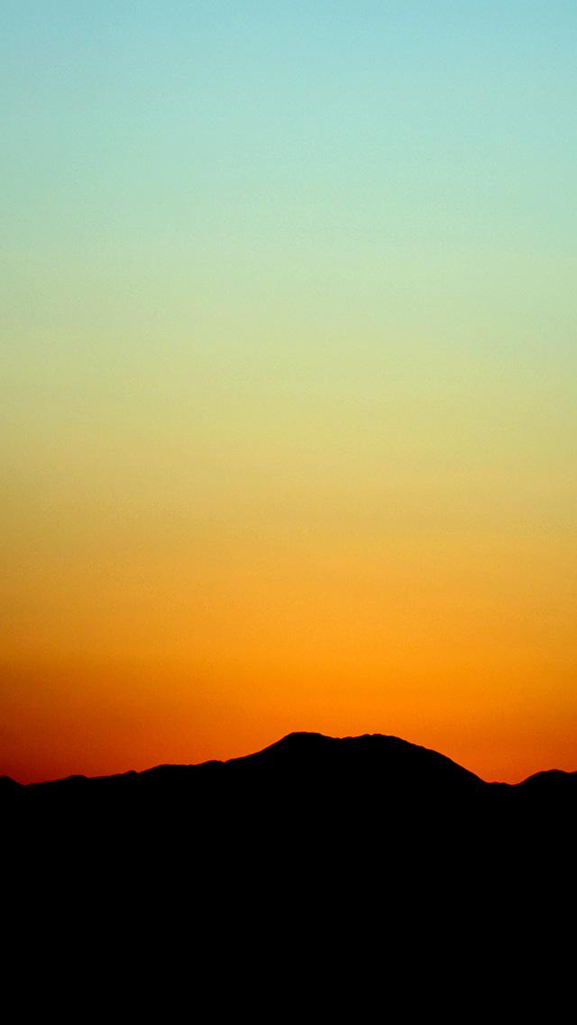 freeios8.com-iphone-4-5-6-plus-ipad-ios8-nd98-sunset-sky-minimal-nature-red