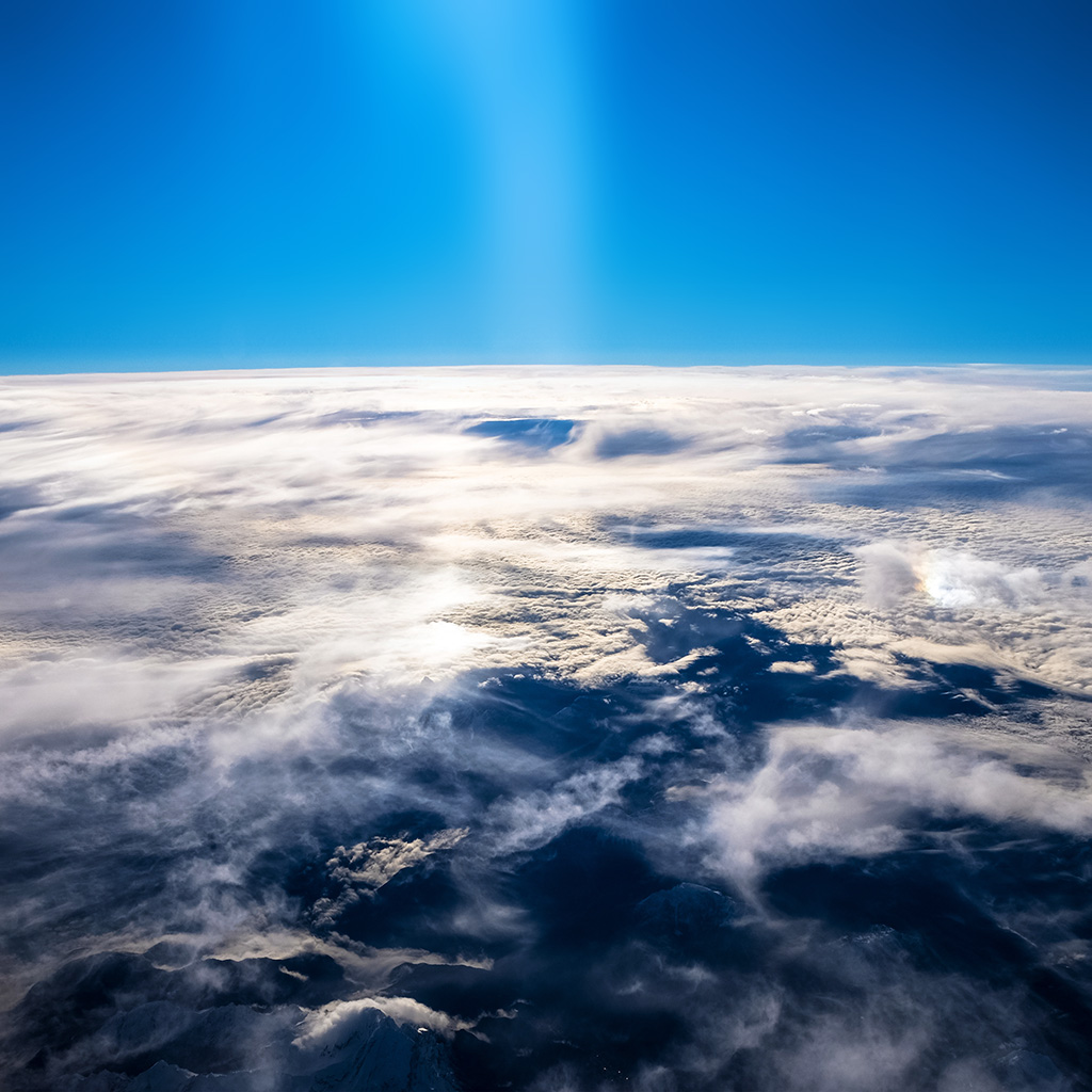 android-wallpaper-ne05-sky-earth-blue-fly-cloud-sunny-wallpaper