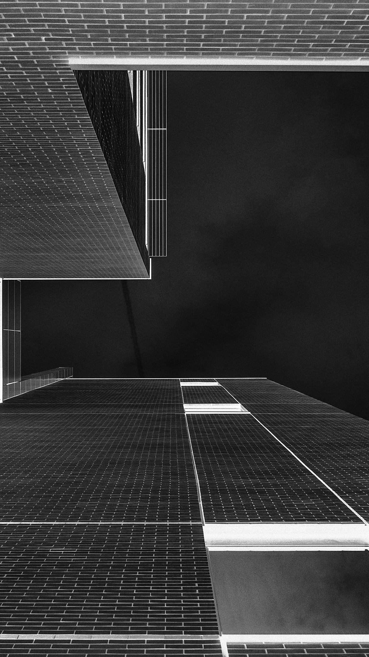 Papers Co Iphone Wallpaper Ne25 Architecture Art Bw