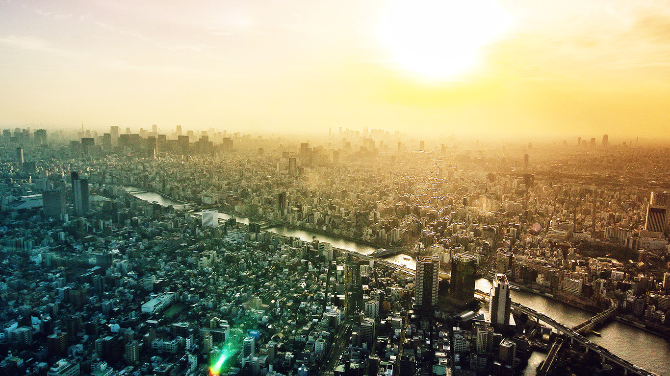 desktop-wallpaper-laptop-mac-macbook-air-ne37-shiny-city-view-sky-sunset-urban-wallpaper