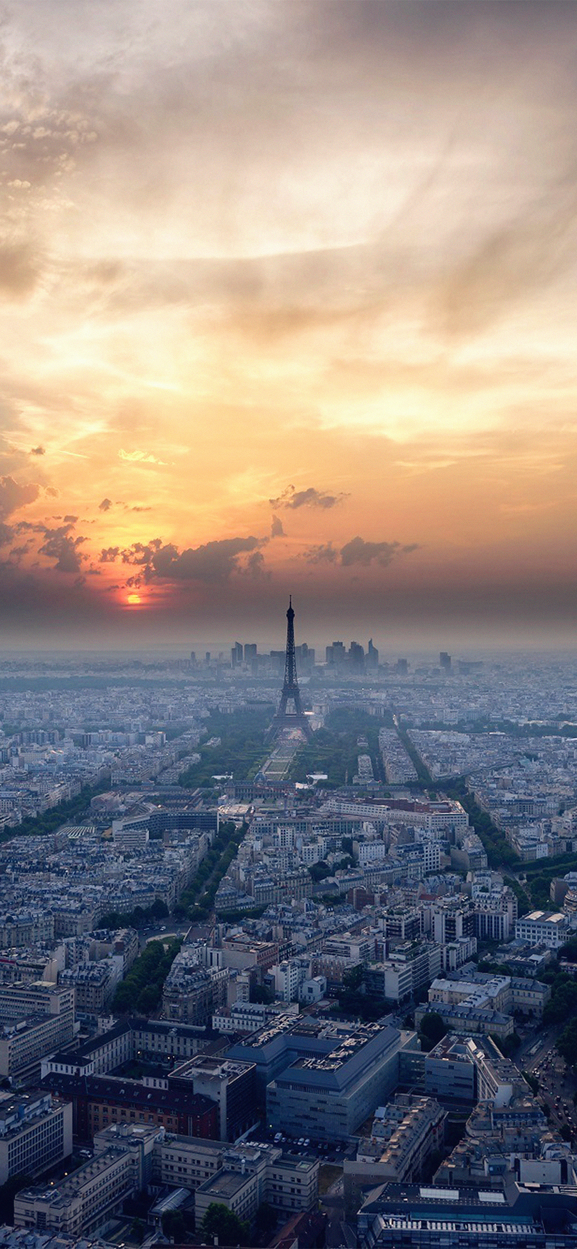 iPhoneXpapers.com-Apple-iPhone-wallpaper-ne41-eiffel-tower-sky-view-paris-france-vacation-sunset