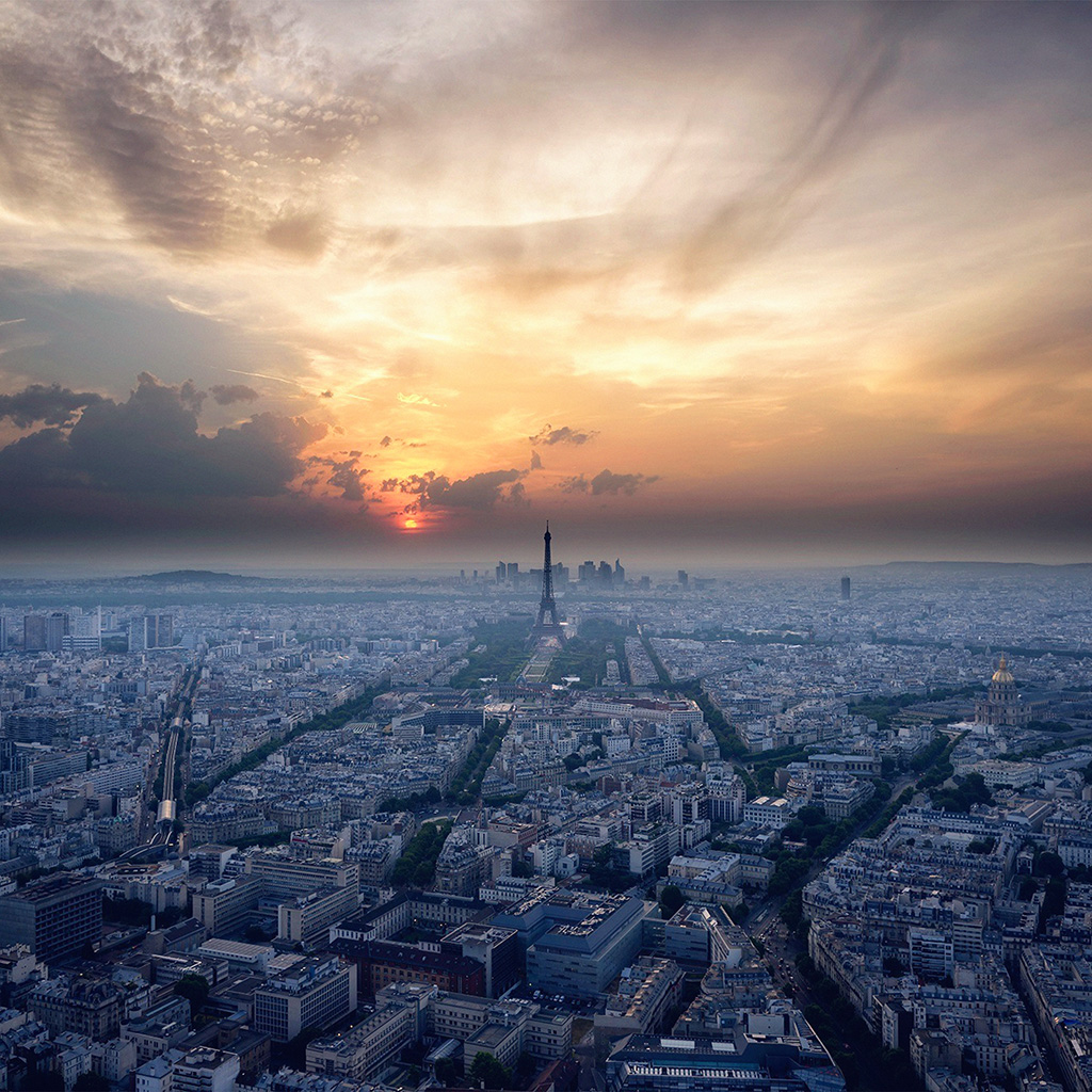 android-wallpaper-ne41-eiffel-tower-sky-view-paris-france-vacation-sunset-wallpaper