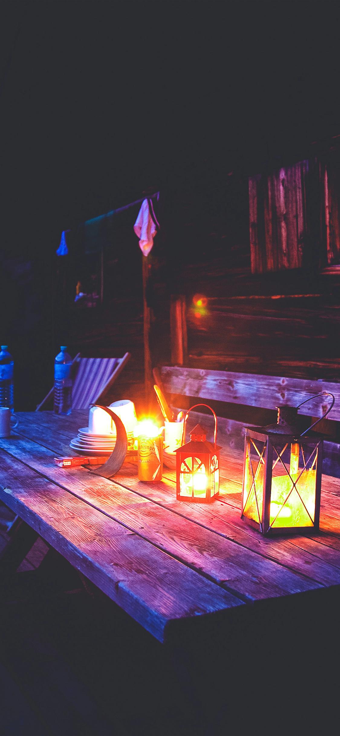 Ne50 Camping Night Light Summer Wallpaper